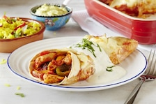 Enchiladas z kurczakiem