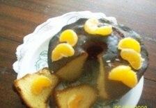 Babka piaskowa z pomarańczami