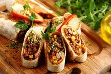 Burrito z baraniną i czosnkiem
