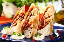 Burrito z mięsem mielonym