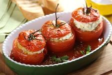 Faszerowane pomidory z ricottą