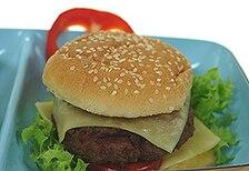 Hamburger szefa kuchni