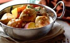 Kurczak ze słodkimi ziemniakami a la Stroganoff