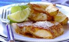 Ryba zapiekana z pomidorowym pesto