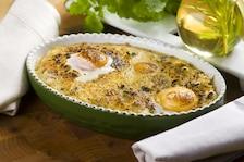 Ryż zapiekany z jajkami