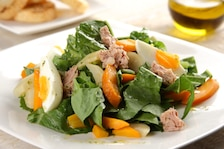 Sałatka z pieczonymi warzywami