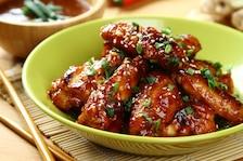 Słodko kwaśne skrzydełka po koreańsku
