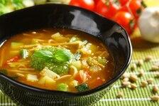 Warzywna zupa z pesto - Soupe au pistou