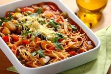 Spaghetti z oliwkowym sosem - VIDEO