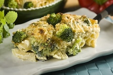 Zapiekanka makaronowa z brokułami