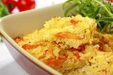 Zapiekanka ryżowo – warzywna