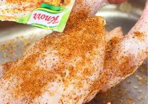 Pieczony kurczak z bakaliami  – krok 1