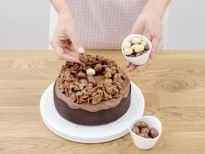 Wielkanocne ciasto czekoladowe – krok 7