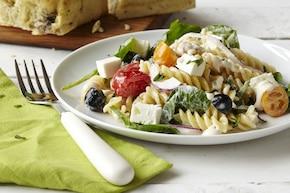 Grecka sałatka makaronowa