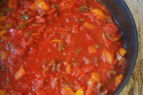Paella marinera – krok 4