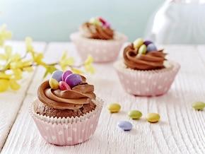 Kremowo-czekoladowe gniazdka