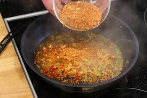 Aglio olio e peperoncino – krok 3