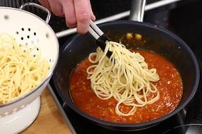 Aglio olio e peperoncino – krok 4