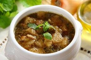 Aromatyczna zupa ziołowa