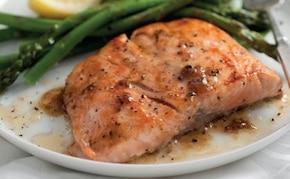 Aromatyczny filet z łososia