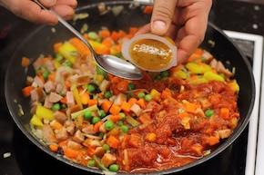 Aromatyczny kuskus z warzywami na ostro – krok 2