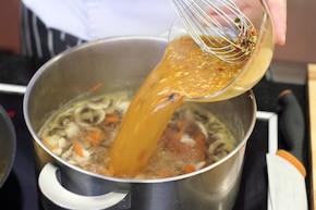 Azjatycka zupa  – krok 3