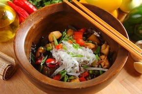 Azjatycka zupa warzywna