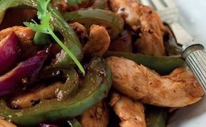 Azjatycki kurczak z warzywami