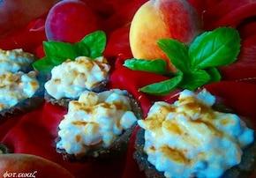 Babeczki brzoskwiniowy raj