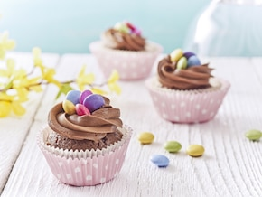 Wielkanocne kremowo-czekoladowe babeczki