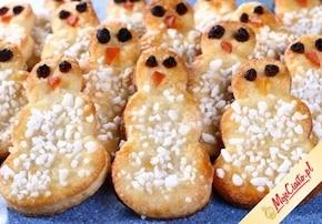 Ciastka bałwanki