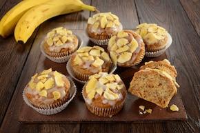 Bananowe mufinki bez laktozy