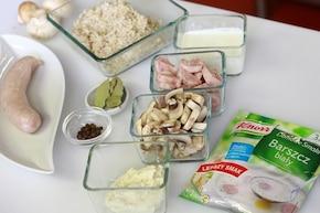 Barszcz biały a la krupnik – krok 1