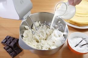 Naleśniki bezglutenowe z serem – krok 4