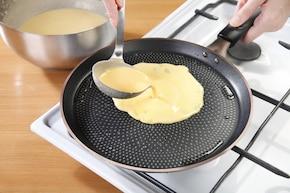 Naleśniki bezglutenowe z serem – krok 3