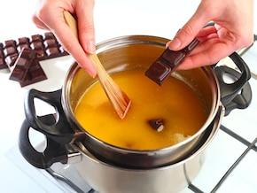 Brownie krówkowo-czekoladowe – krok 1