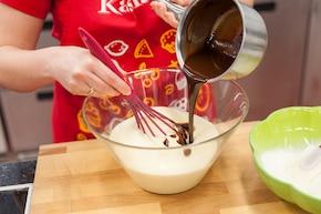 Brownie z tiramisu – krok 3