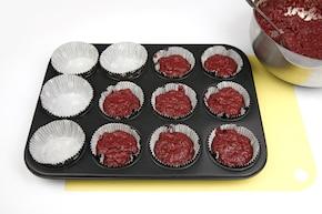 Buraczkowe muffinki – krok 5