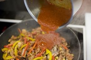 Burrito z mięsem mielonym – krok 5