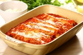 Cannelloni z kremowym szpinakiem   – krok 5