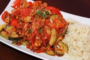Caponata - duszone warzywa śródziemnomorskie