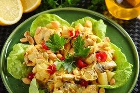 Chińska sałatka z indyka