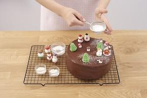 Świąteczny tort czekoladowy – krok 6