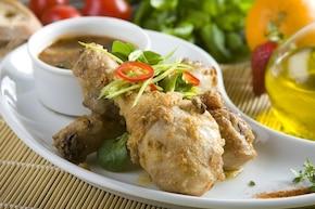 Chrupiący kurczak w sosie słodko-kwaśnym