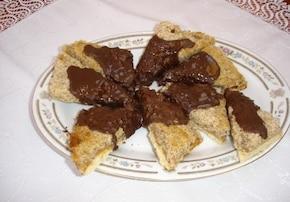 Ciastka czekoladowo kokosowe