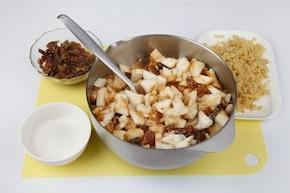 Ciasto jabłkowo-marcepanowe – krok 4