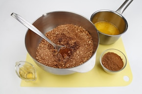 Ciasto kokosowo-czekoladowe – krok 1