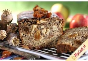 Ciasto makowe z jabłkami