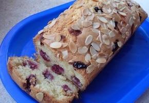 Ciasto migdałowo-wiśniowe