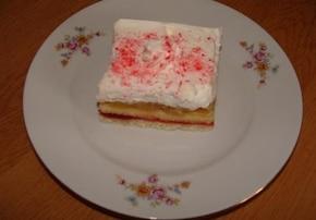 Ciasto śmietankowo - jabłkowe